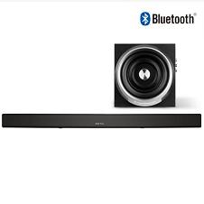 shockwave U1100B+ 无线蓝牙智能家庭平板电视音响 回音壁 5.1环绕家庭影院 液晶电视soundbar壁挂音响 黑色