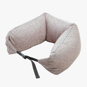 挖洞也要保护脖子|纯棉针织U枕 旅行枕午睡颈枕腰枕
